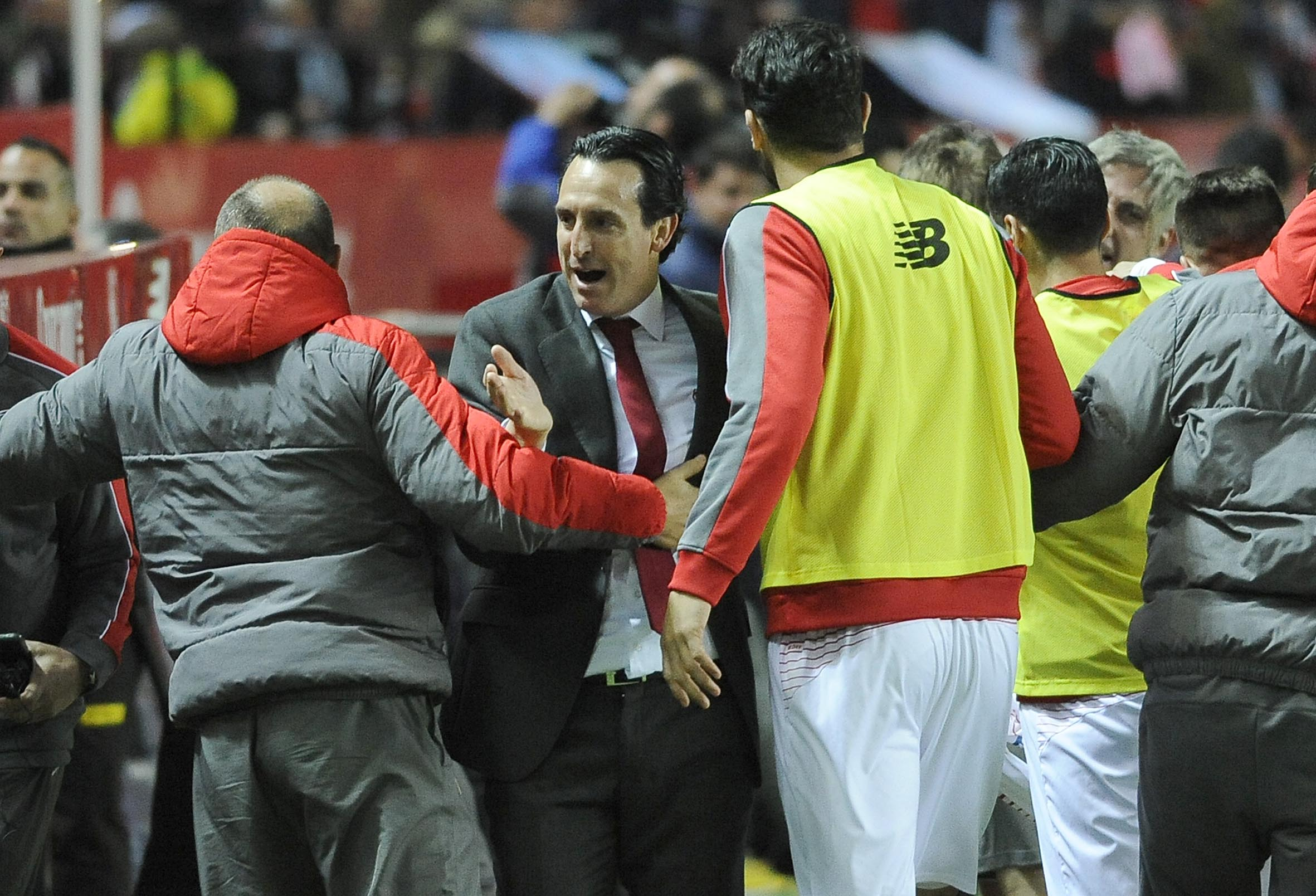 Emery en el Sevilla FC-Celta