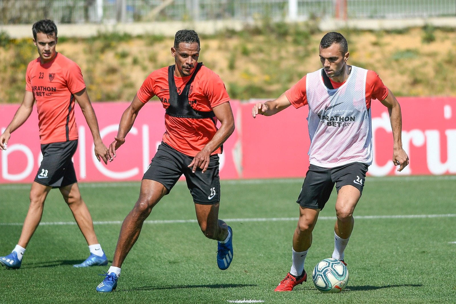 The first Phase 3 training session | Sevilla FC