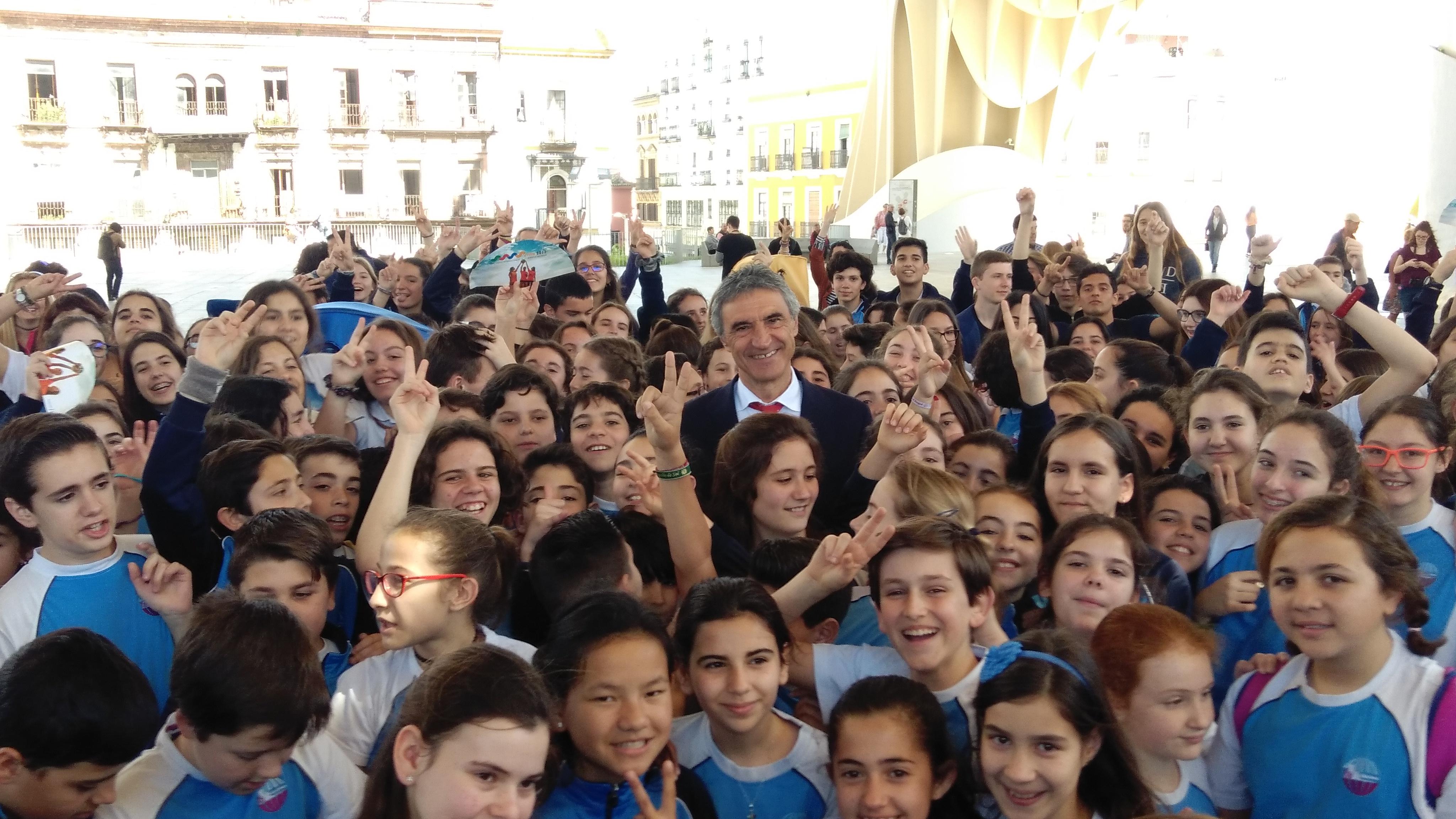 Presentación de los XXVIII Juegos Internacionales de la Juventud Salesiana