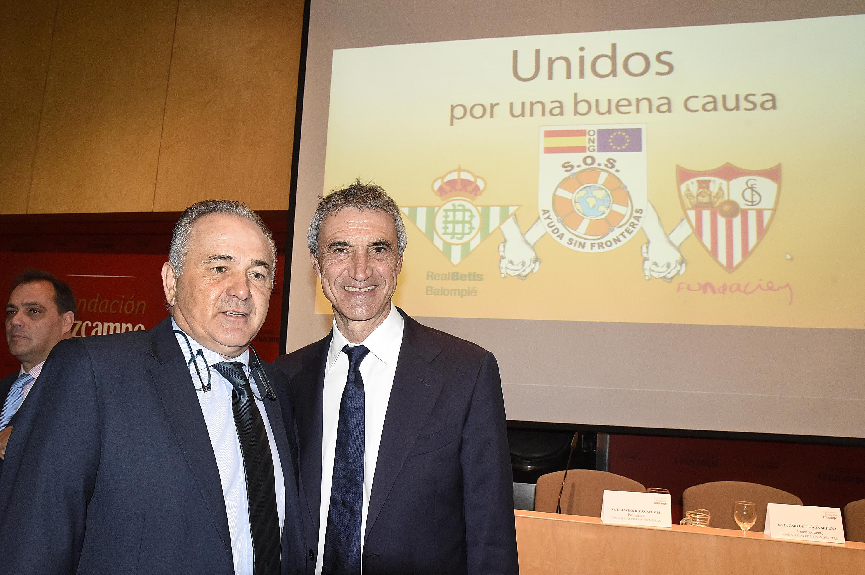Antonio Álvarez junto con Gordillo