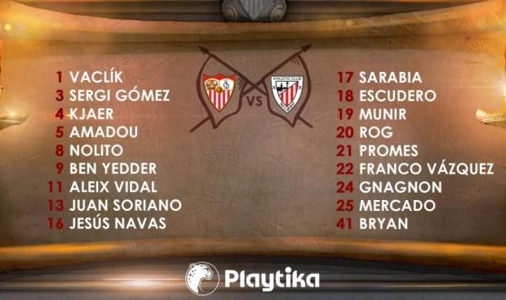 Squad for Athletic Bilbao