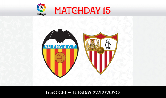 LaLiga Matchday 15 kick-off time