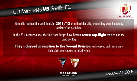 Preview: CD Mirandés vs Sevilla FC