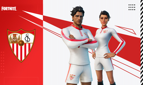 Sevilla FC in Fortnite