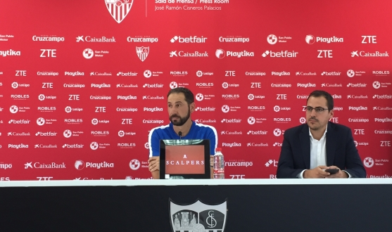Pablo Machín talks about the 2018/19 league opener