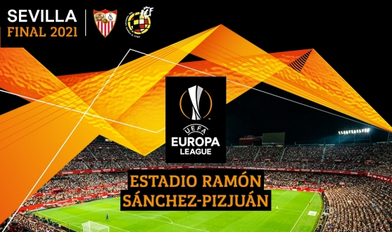 The 2021 UEL final at the Sánchez-Pizjuán