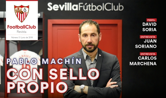 Portada Football Club Pablo Machín