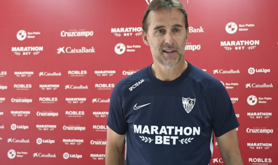 Lopetegui in the press conference
