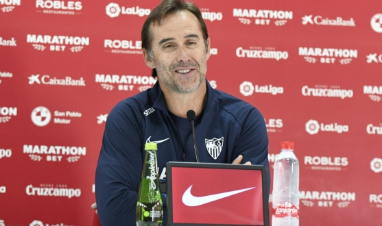 Lopetegui in the press conference before Levante UD