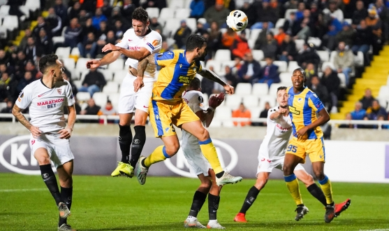 Image from the APOEL FC - Sevilla FC match