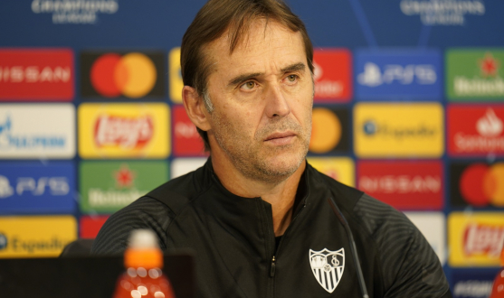 Press Conference Julen Lopetegui