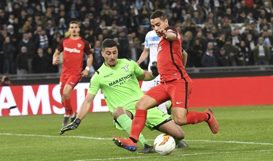 Ben Yedder against Lazio