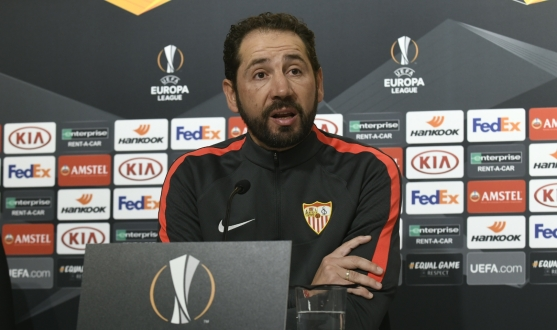 Pablo Machín in the press conference