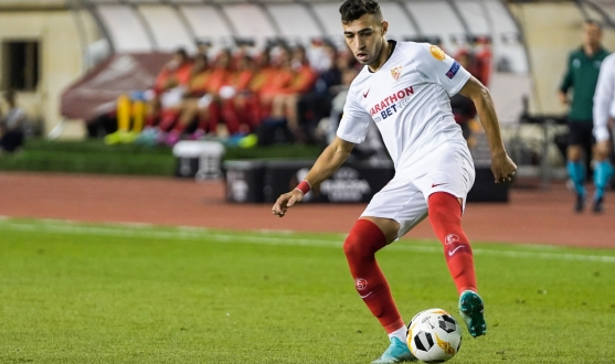 Munir in action against Qarabag