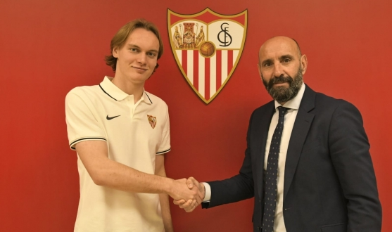 Ryan Johansson with Monchi