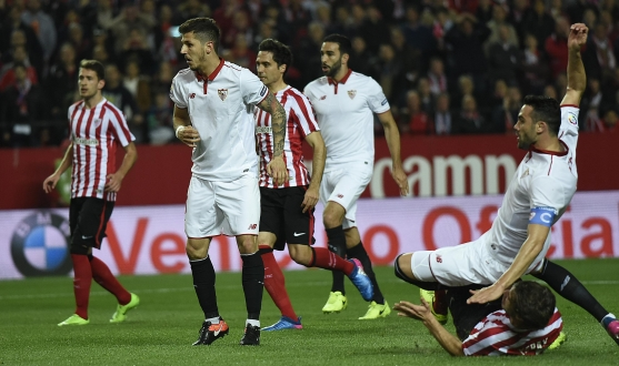 Gol de Iborra ante el Athletic