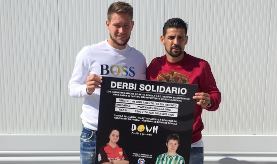 Vaclík and Nolito support the Triangular Solidario