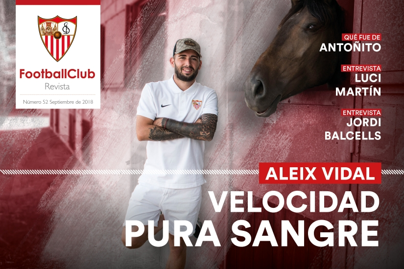 Portada del Nº 52 de la Revista Football Club