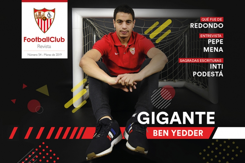 Portada de la Revista Football Club Nº54