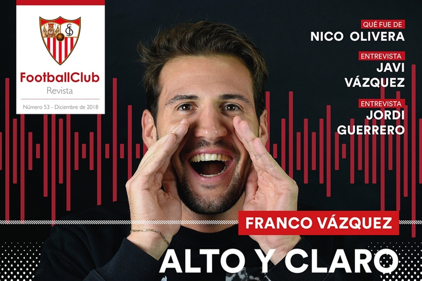 Portada de la Revista Football Club Nº 53