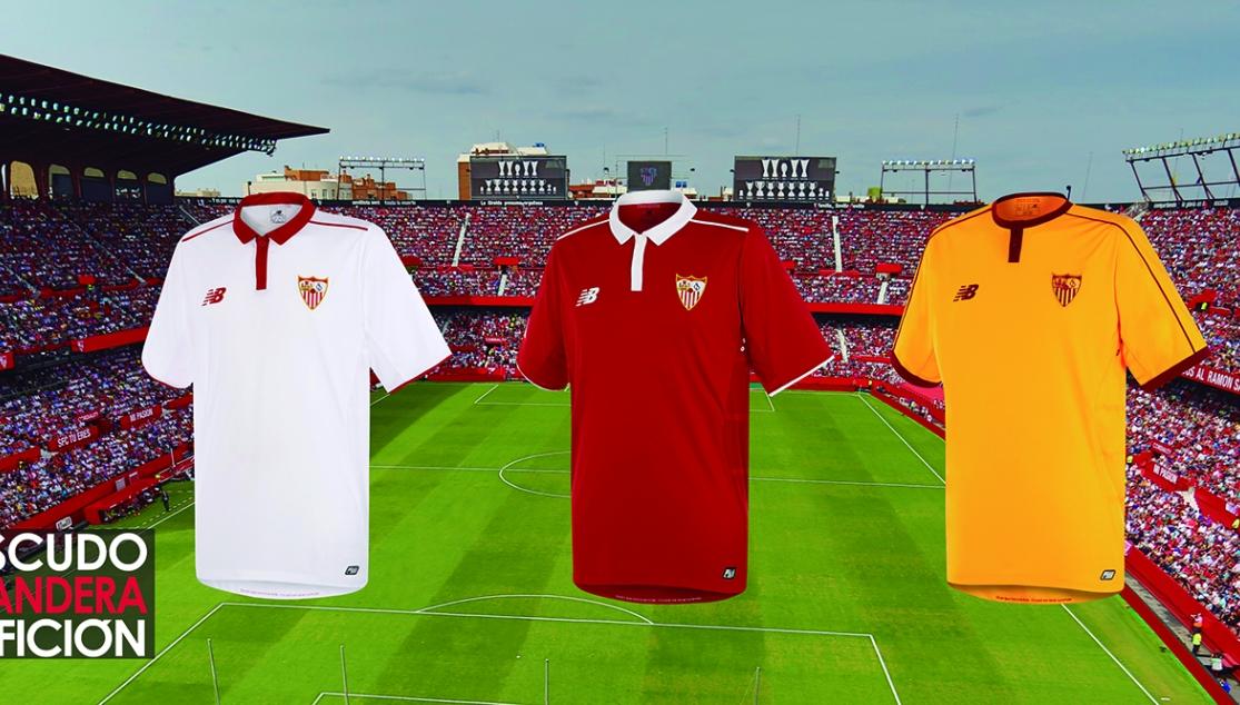 Las Nuevas Camisetas Ya A La Venta En La Tienda Oficial Sevilla Fc