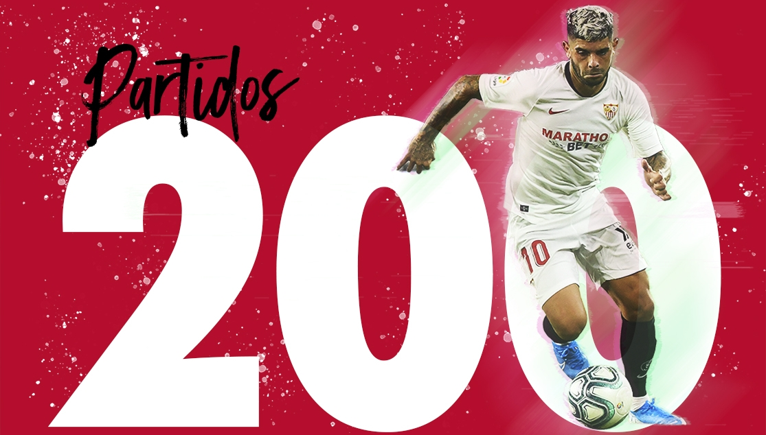Banega brings up 200 appearances for Sevilla