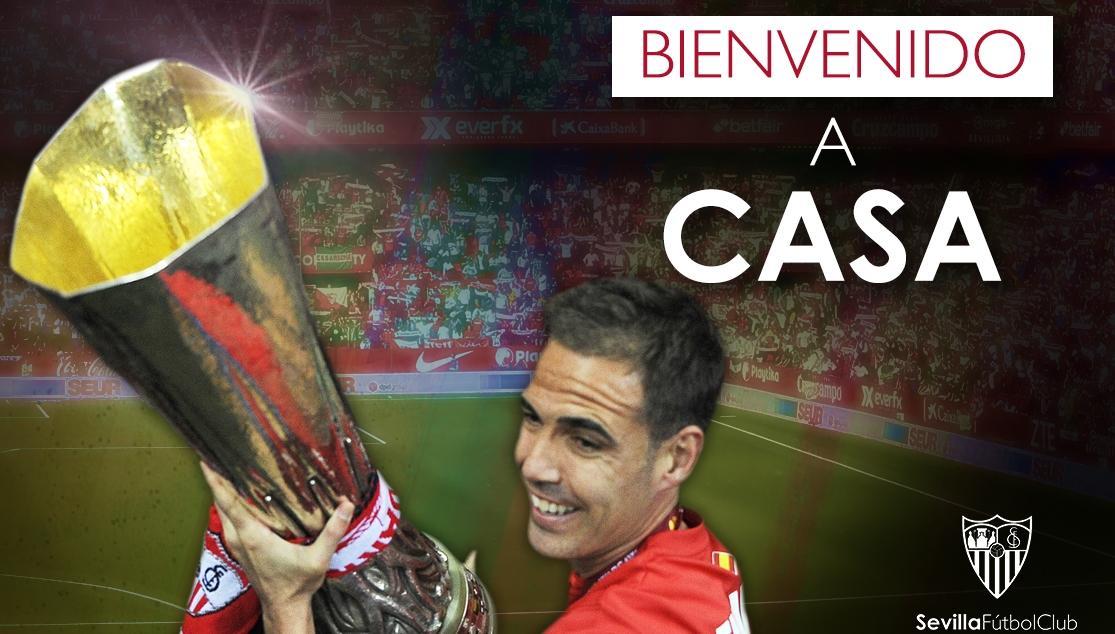 Fernando Navarro vuelve al Sevilla FC