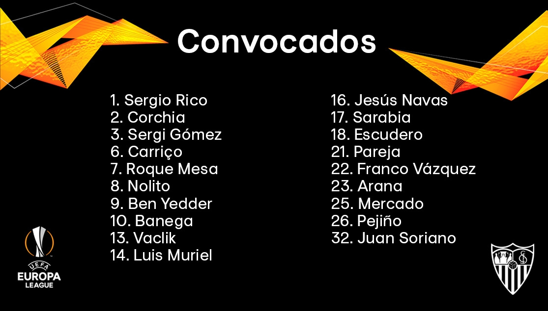 CONVOCADOS_0 Machín convoca a 19 jugadores para la vuelta ante el Ujpest - Comunio-Biwenger