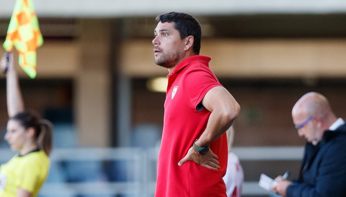 Cristian Toro, entrenador del Sevilla FC