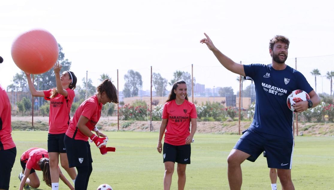 David Barrachina, Sevilla FC Femenino