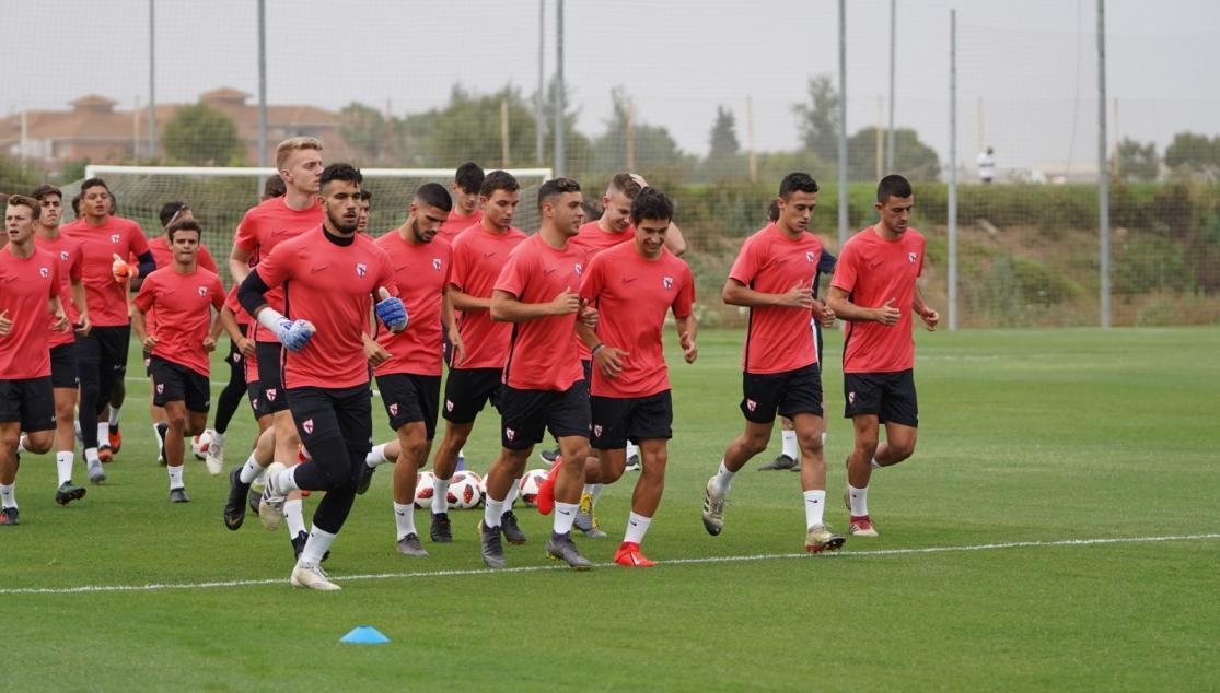 Entrenamiento Sevilla Atlético