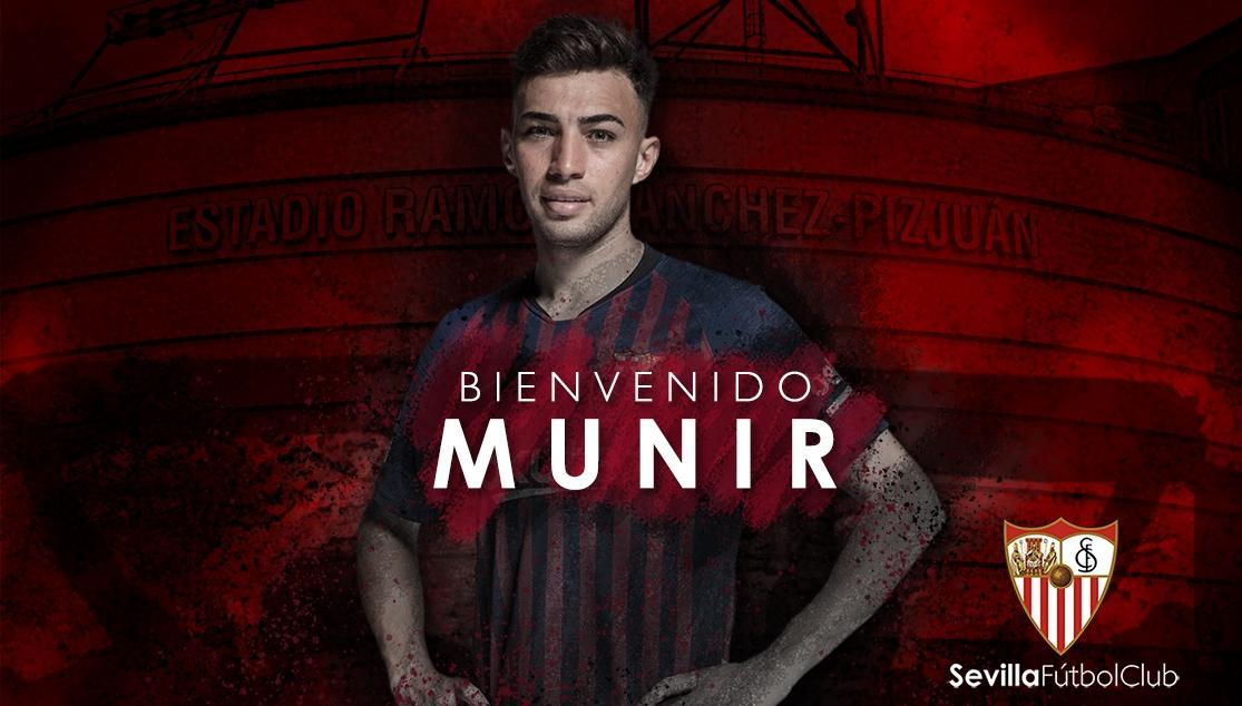 BIENVENIDO MUNIR SEVILLA FC