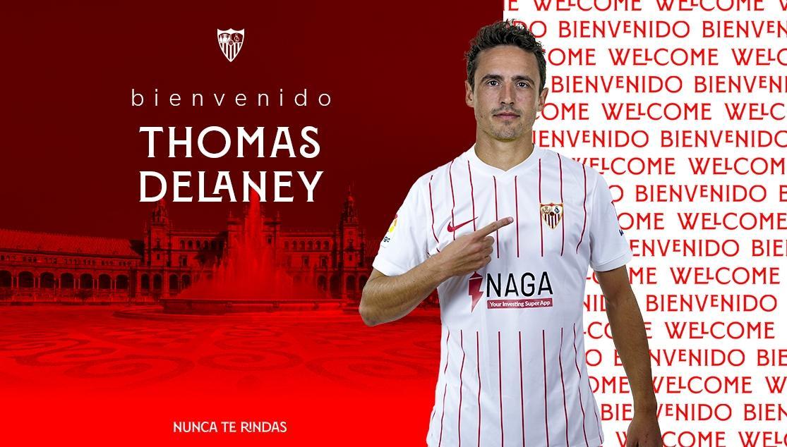 Thomas Delaney, new player of Sevilla FC