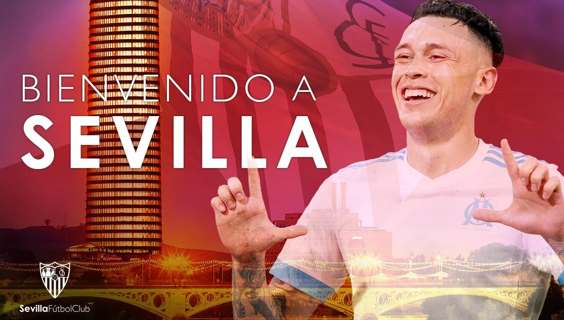 Lucas Ocampos quitte l'OM pour le FC Séville