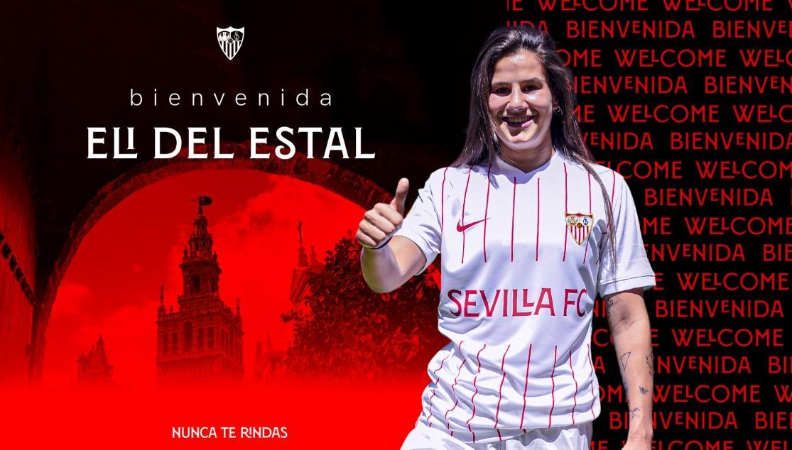LA ATACANTE ELI DEL ESTAL SE SUMA AL PROYECTO DEL SEVILLA FC FEMENINO