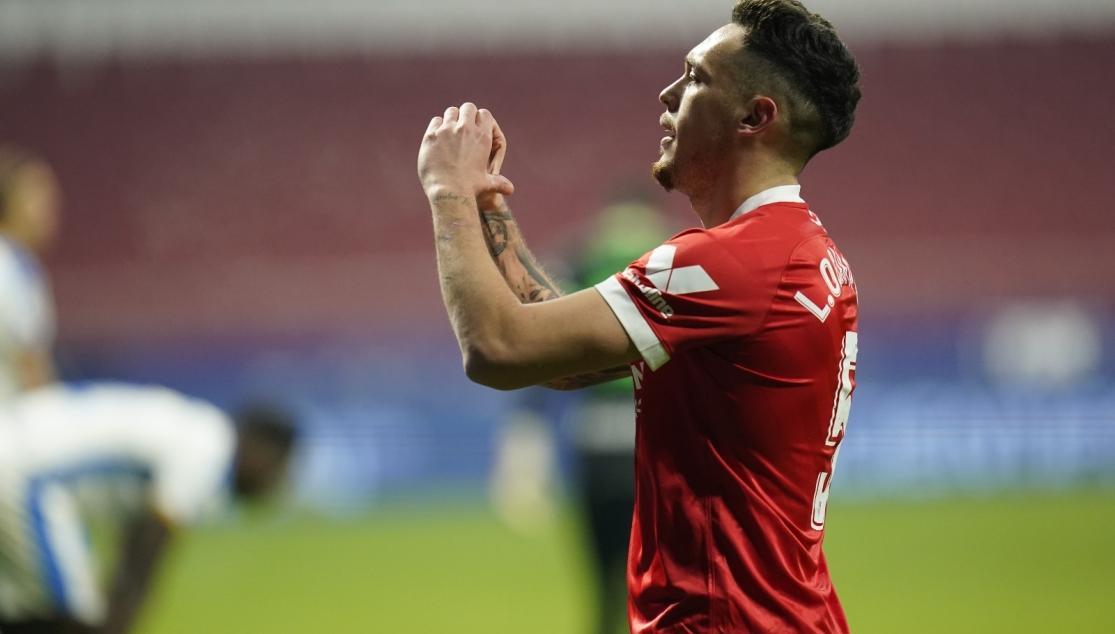 Ocampos, feliz con el pase a octavos de Copa | Sevilla FC