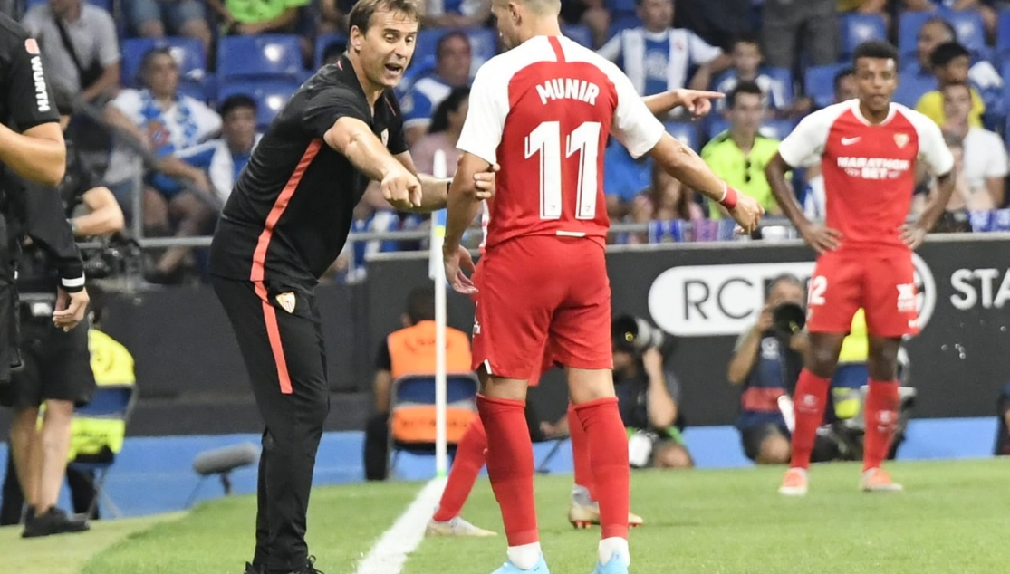 Image of Lopetegui and Munir