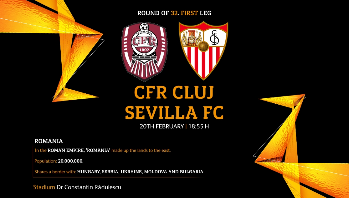 Preview of CFR Cluj versus Sevilla FC
