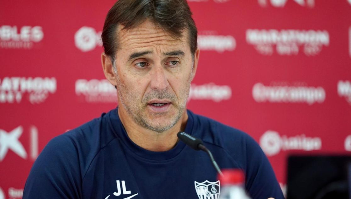 Julen Lopetegui, en la rueda de prensa previa al Valencia CF