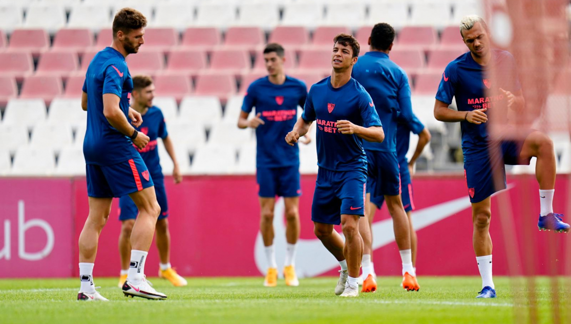 Sevilla FC training 21 September
