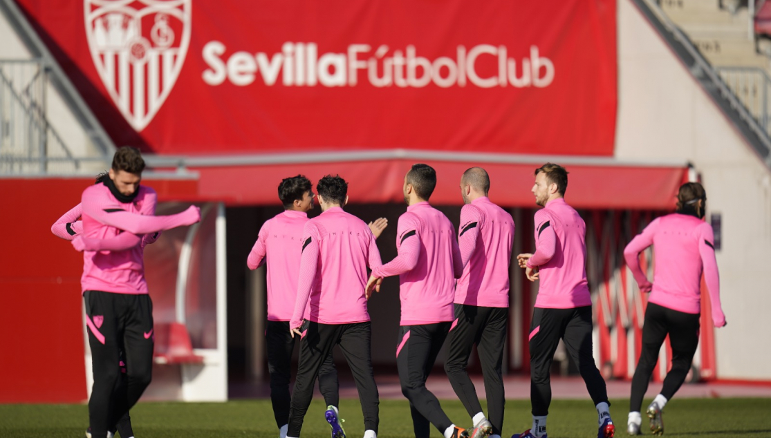 Sevilla FC Training 14 January