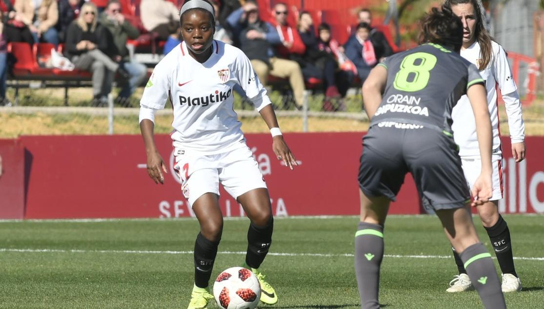 Sevilla Femenino 0-2 Real Sociedad. (Foto: SFC).