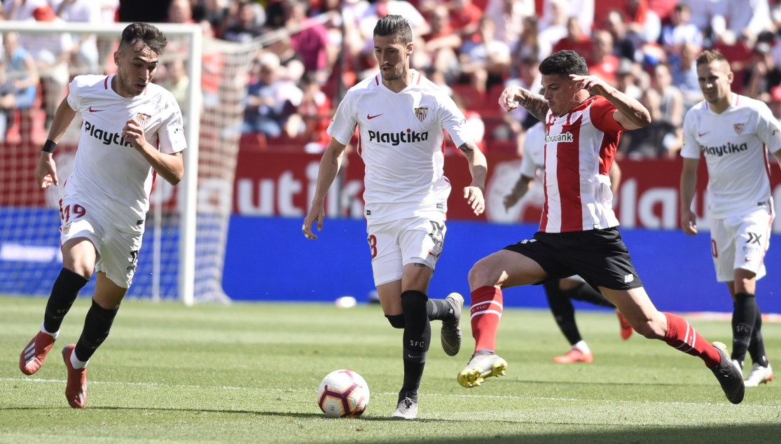 Sevilla FC against Athletic Club
