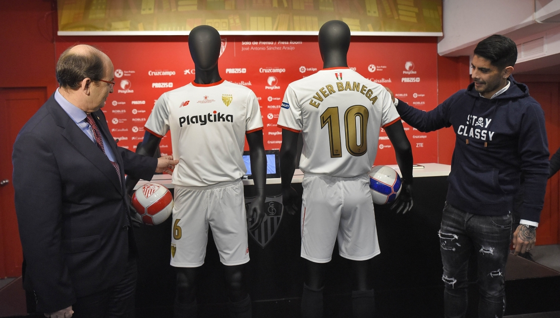 Camiseta Sevilla FC online