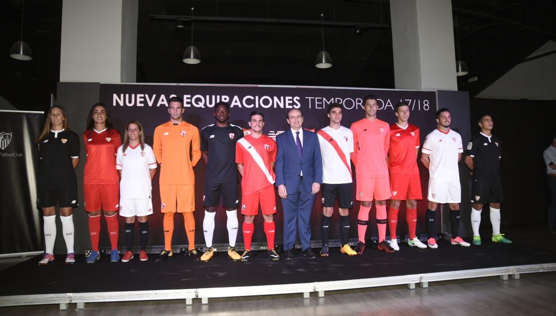 equipacion Sevilla FC modelos
