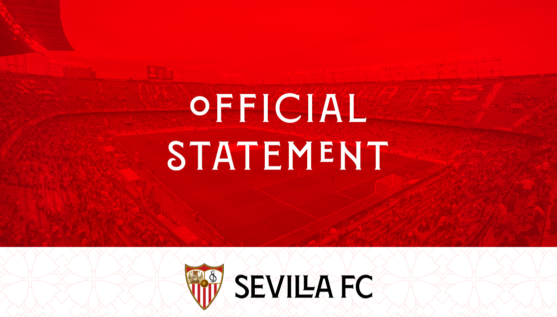Official Statement Sevilla FC