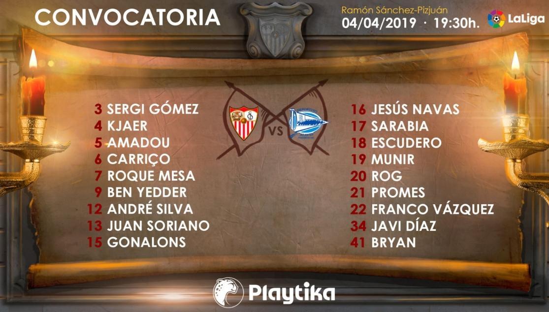 lista_sfc_alaves Sarabia, Escudero y Andre Silva entran en la lista para recibir al Alavés - Comunio-Biwenger
