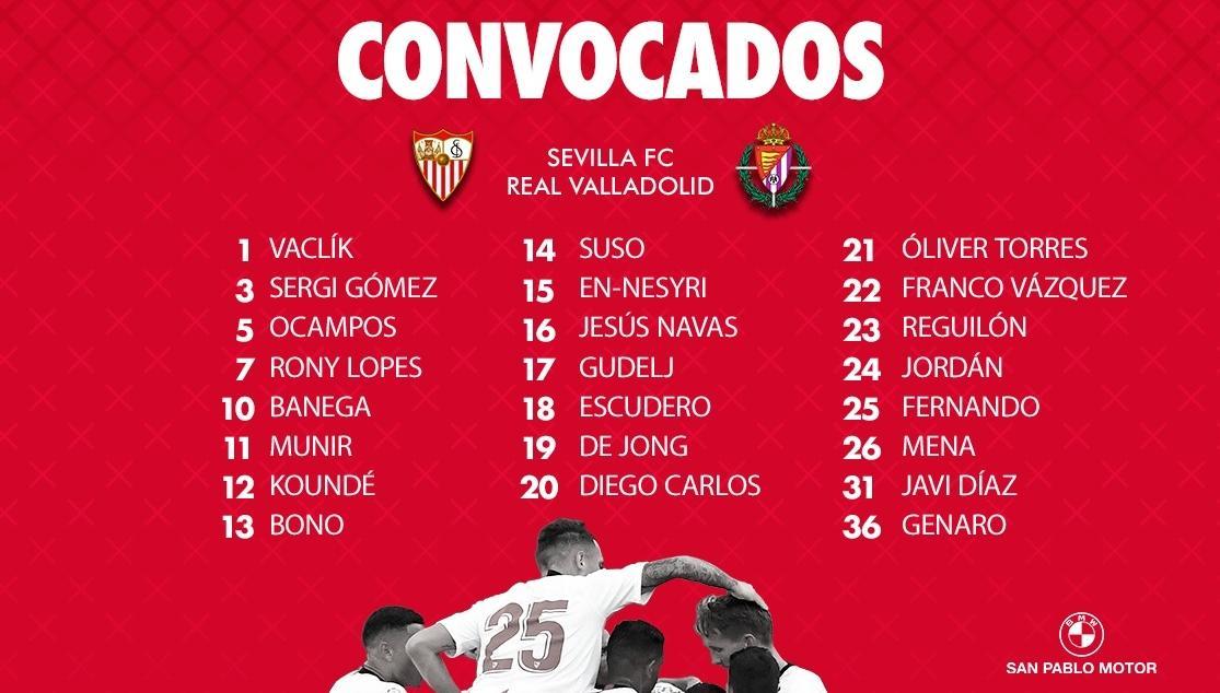 listavall Lopetegui convoca a 23 jugadores para recibir al Valladolid - Comunio-Biwenger