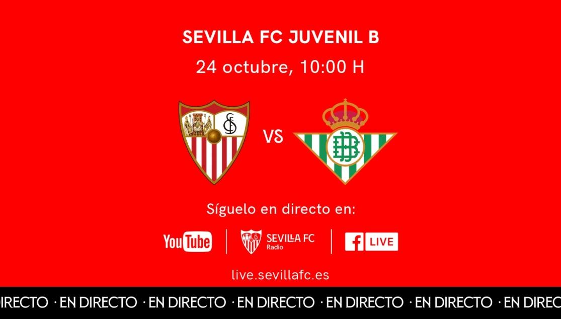 ESTE DOMINGO, EL DERBI DE LIGA NACIONAL JUVENIL EN SEVILLA FC TV