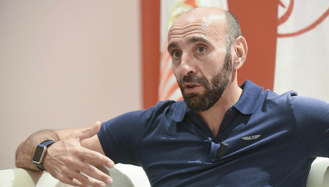 Monchi, during an interview